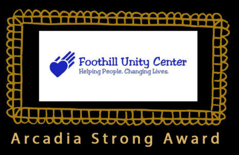 Foothill Unity Center speaker and winner of the Arcadia Strong Award