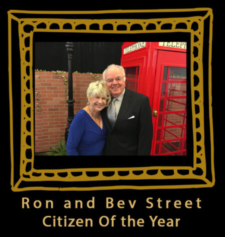 Ron and Bev Street speakers and Citizen of the Year