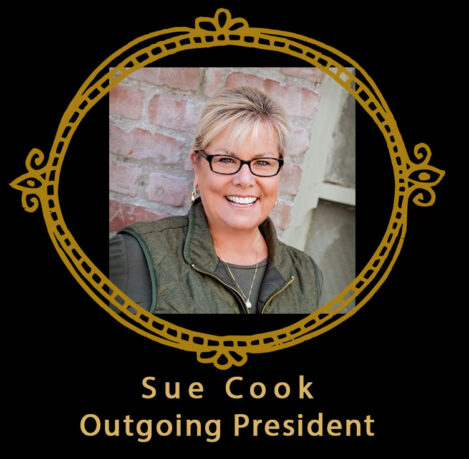 Sue Cook speaker and outgoing President